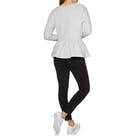SWELL Tia Peplum Crew Ladies Sweater