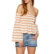 SWELL Shirred Ladies Top