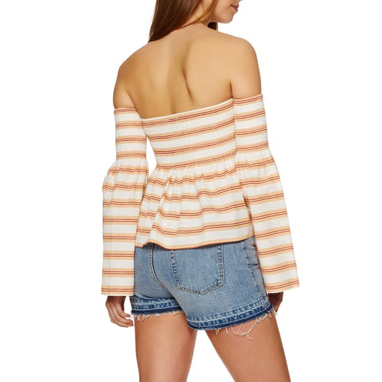 SWELL Shirred Womens Top
