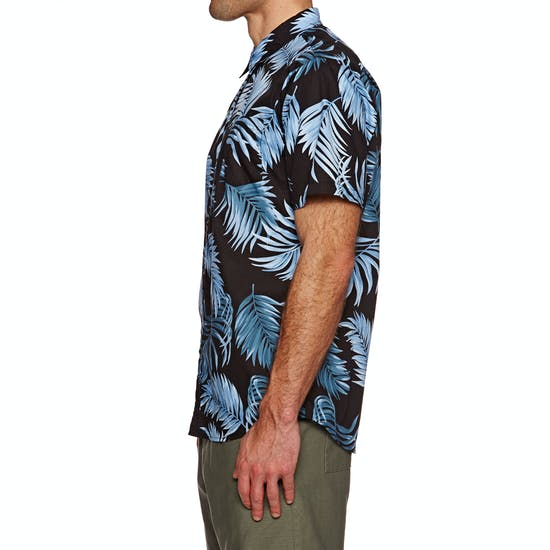 SWELL Palms Woven Short Sleeve Shirt