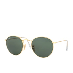 Ray-Ban Round Metal Sunglasses - Arista ~ Crystal Green