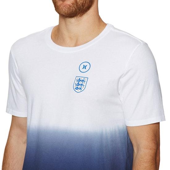 T-Shirt de Manga Curta Hurley England National Team