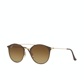 Ray-Ban RB3546 Sunglasses - Gold Brown Gradient