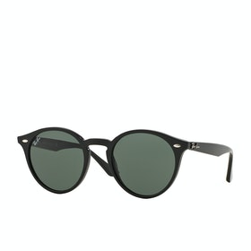 Ray-Ban RB2180 Sunglasses - Black Grey Green