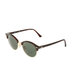 Gafas de sol Ray-Ban Clubround - Red Havana Green