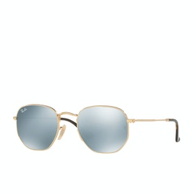 Ray-Ban RB3548 Sunglasses - Gold Grey