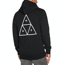 Pullover à Capuche Huf Essentials Triple Triangle - Black