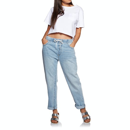 SWELL Dallas Elastic Waist Womens Cargo Pants