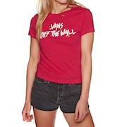 Vans Splatter Womens Short Sleeve T-Shirt