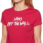 Vans Splatter Ladies Short Sleeve T-Shirt