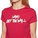 T-Shirt de Manga Curta Senhora Vans Splatter