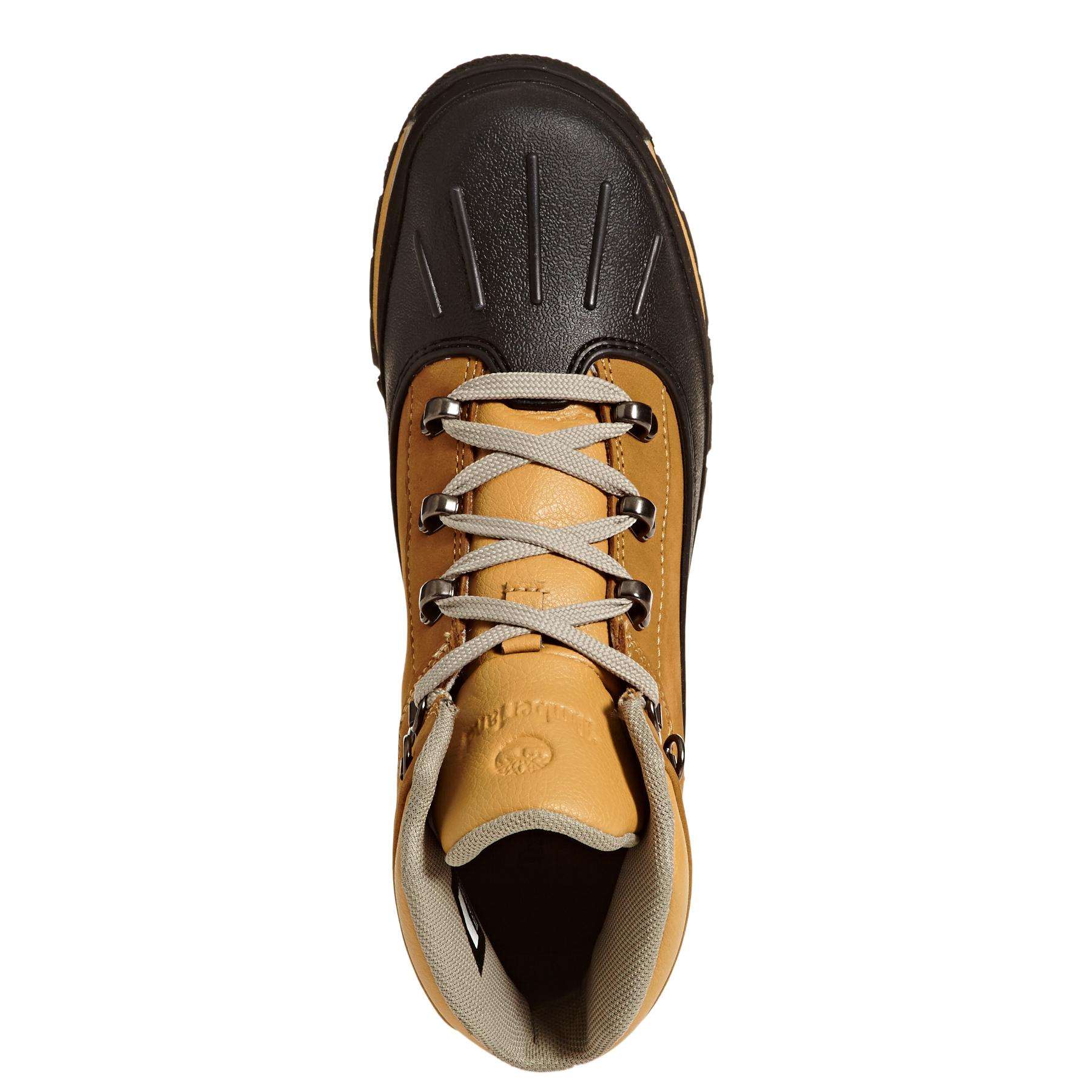Junior Shell Toe Euro Hiker Boots