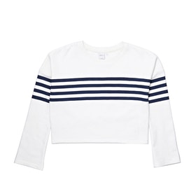 Jersey con capucha Girls SWELL Sista Flared - Stripe