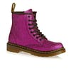 Bottes Dr Martens Delaney Glitter - Purple Glitter Pu