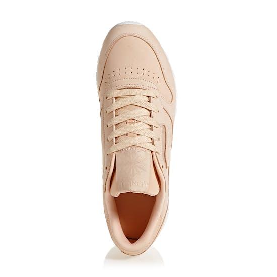 Reebok Classics Leather Nude Nubuck Womens Shoes