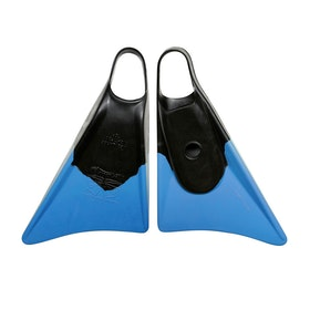 Churchill Makapuu Bodyboard Swim Fin - Black/blue