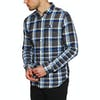 Superdry Engineered Rookie Shirt - Rivet Navy Check
