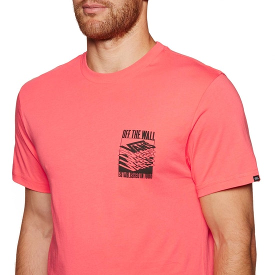 Vans Stacked Up Mens Short Sleeve T-Shirt
