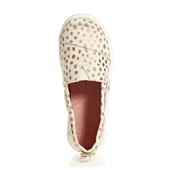 Toms Bimini Youth Girls Slip On Shoes