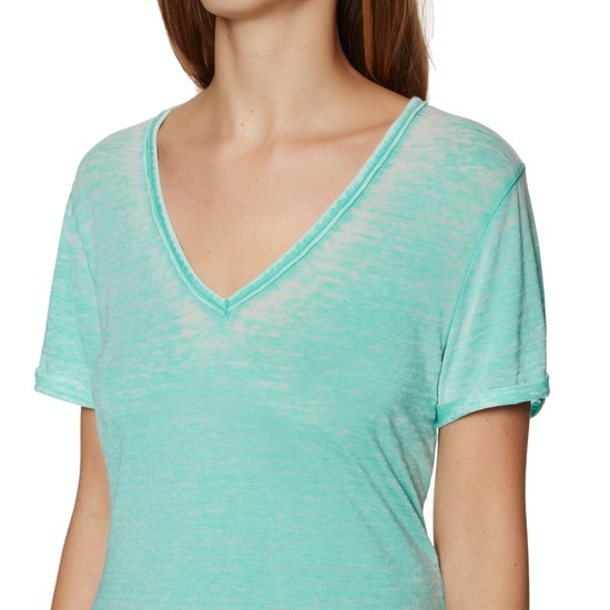Superdry Burnout Vee Womens Short Sleeve T-Shirt