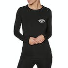 Billabong Crew Neck Long Sleeve Technical Ladies Base Layer Top