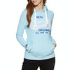 Superdry Real Originals Entry Womens Pullover Hoody - Blue Grit