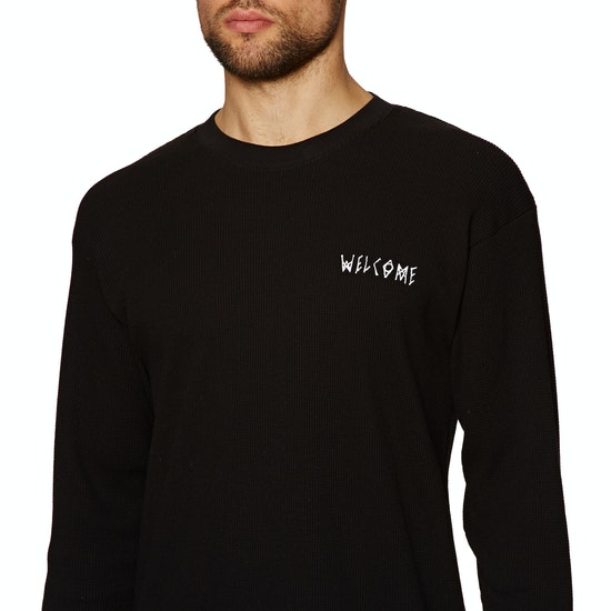 Welcome Symbol Heavyweight Thermal Long Sleeve T-Shirt