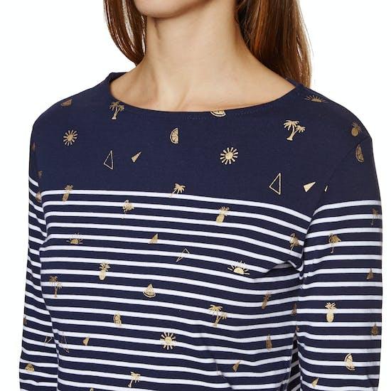 Superdry Conversational Bretton Top Womens Long Sleeve T-Shirt