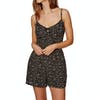 Superdry Alice Knot Playsuit - Mono Chelsea Ditsy