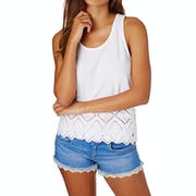 Superdry Pacific Broderie Womens Tank Vest