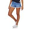Superdry Lace Trim Hot Womens Shorts - Hula Blue