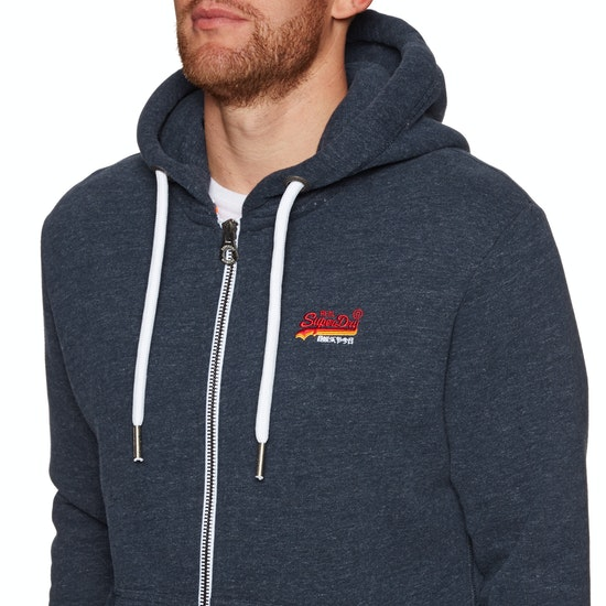 Superdry Orange Label Cali Zip Hoody