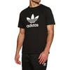 Adidas Originals Trefoil Short Sleeve T-Shirt - Black