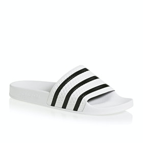 Adidas Originals Adilette Sliders - White