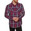 Superdry Washbasket Shirt - Gravel Red Check