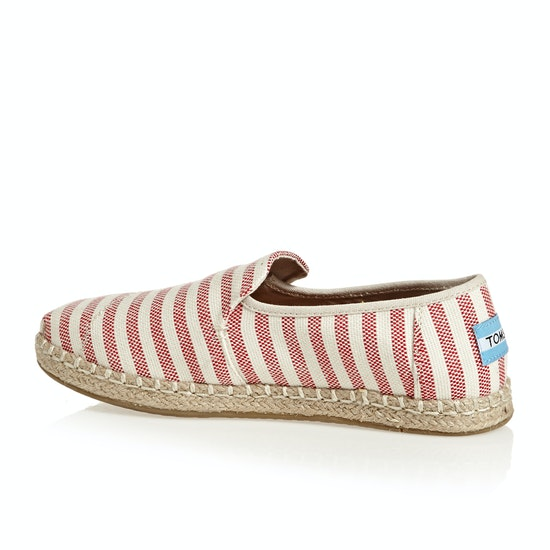 Calzado sin cordones Mujer Toms Deconstructed Alpargata Rope