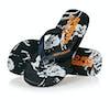 Superdry Super Sleek Aop Sandals - Darkest Navy Iris