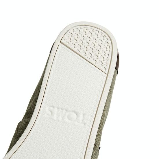 Toms Alpargata Washed Slip On Shoes