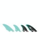 FCS II Matt Biolos Performance Glass Split Keel Quad Fin