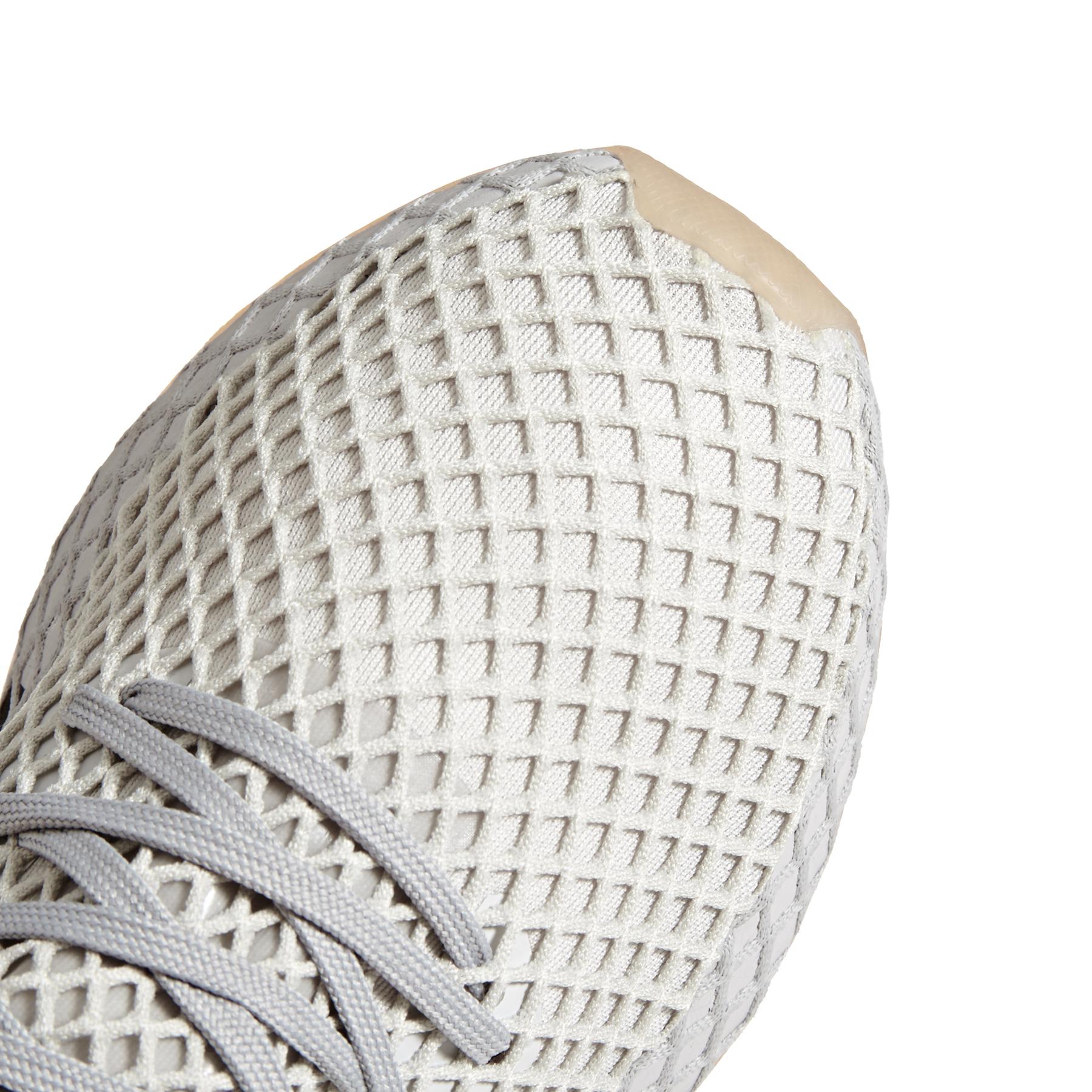 adidas originals DEERUPT RUNNER GREY THREE F17lgh solid greyGUM 1 bei