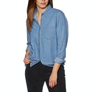 SWELL Kirra Boxy Denim Womens Shirt