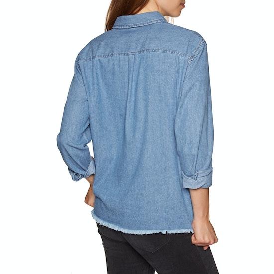 SWELL Kirra Boxy Denim Ladies Shirt