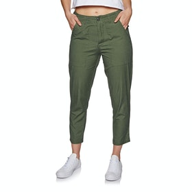 The Hidden Way Maja Womens Trousers - Olive