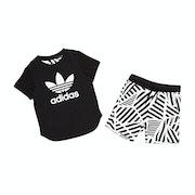 Adidas Originals Graphic Shorts and Boys Short Sleeve T-Shirt