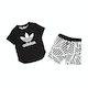 Adidas Originals Graphic Shorts and Boys Short Sleeve T-Shirt