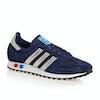 Adidas Originals LA Trainer Shoes - Dark Blue Metallic Silver