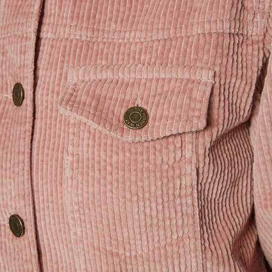 The Hidden Way Float On Cord Womens Jacket