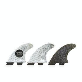 FCS II Hayden Shapes Performance Core Thruster Fin - Grey Scales
