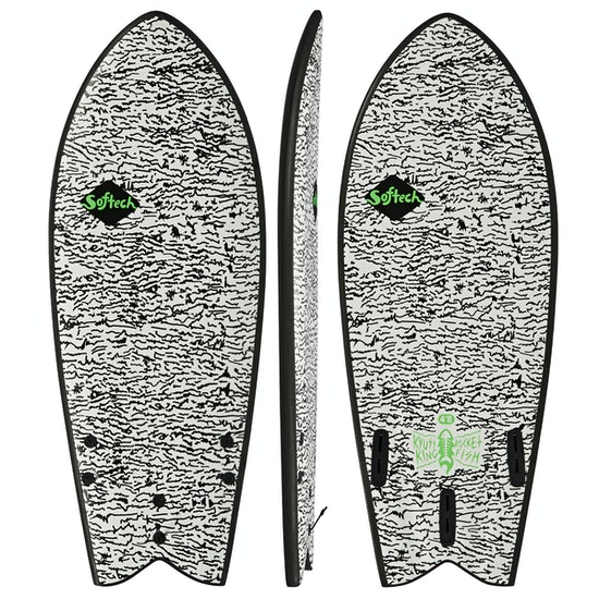Surfboard Softech Kyuss King Rocket Fish FCS II