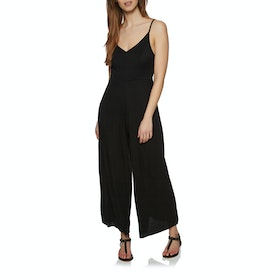 SWELL Delta Strappy Playsuit - Black